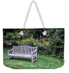 Woodstock Bench Weekender Tote Bag