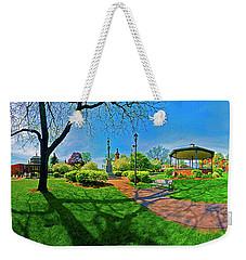 Woodstock Square Historic District 360 Spring Weekender Tote Bag