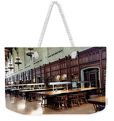 Woodwork Weekender Tote Bag