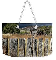 Woodworm Art Picket Fence Weekender Tote Bag