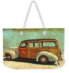 Woody - Photo By Bill T. Weekender Tote Bag