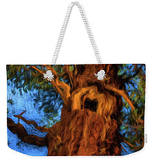 Wooly Bear Tree Weekender Tote Bag