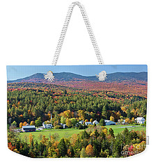 Worcester Vermont Autumn Weekender Tote Bag