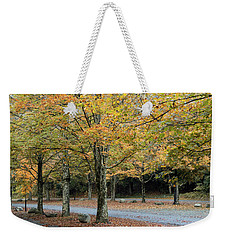 Words End State Park Drive Weekender Tote Bag