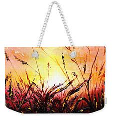 Words Like Fire Weekender Tote Bag