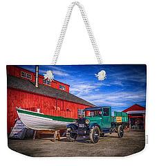 Work Truck, Mystic Seaport Museum Weekender Tote Bag