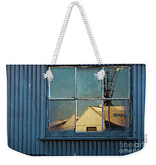 Weekender Tote Bag featuring the photograph Work View 1 by Werner Padarin