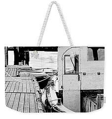 Working Boat Weekender Tote Bag