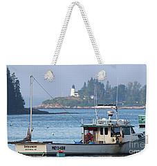 Working Boat Weekender Tote Bag