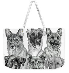 Working Dogs Of Florida Weekender Tote Bag