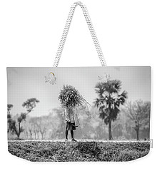 Working In The Lower Ganges Weekender Tote Bag