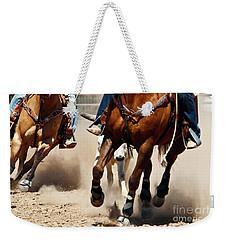 Working Weekender Tote Bag by Kathy McClure