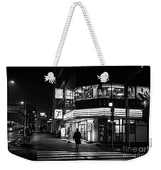 Workout The Night, Tokyo Japan Weekender Tote Bag