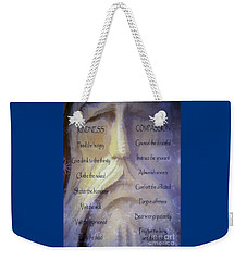 Works Of Mercy Weekender Tote Bag