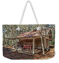 Weekender Tote Bag featuring the photograph Workshop by Judy Hall-Folde