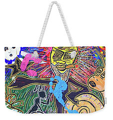 World Buggin Aftermath Weekender Tote Bag