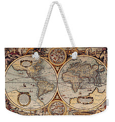 World Map 1636 Weekender Tote Bag