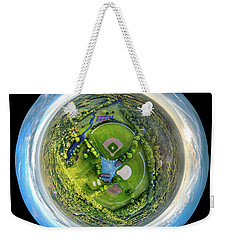 World Of Baseball Weekender Tote Bag by Randy Scherkenbach