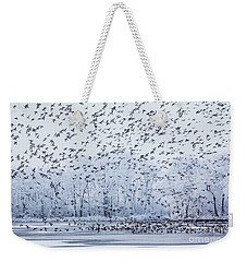 World Of Birds Weekender Tote Bag