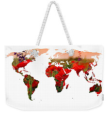 World Of Poppies Weekender Tote Bag