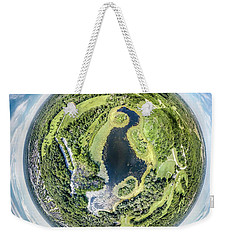 Weekender Tote Bag featuring the photograph World Of Whitnall Park by Randy Scherkenbach