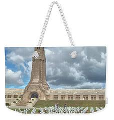 World War I Memorial At Verdun France Weekender Tote Bag