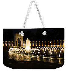 World War Memorial Weekender Tote Bag