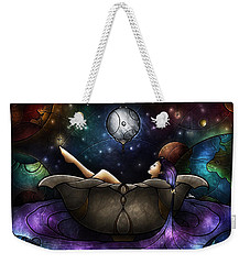 Worlds Away Weekender Tote Bag