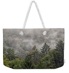 Worlds End State Park Fog Weekender Tote Bag