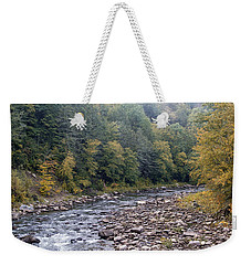 Worlds End State Park Loyalsock Creek Weekender Tote Bag