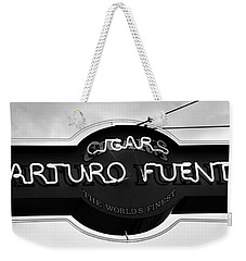 Worlds Finest Cigar Weekender Tote Bag