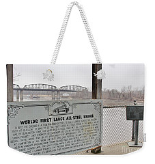 Worlds First Large All Steel Bridge Weekender Tote Bag