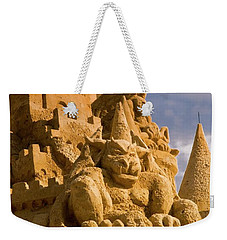 Worlds Largest Sand Castle Weekender Tote Bag by Bob Pardue