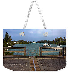World's Smallest Drawbridge Weekender Tote Bag
