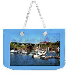 Worlds Smallest Harbor Weekender Tote Bag