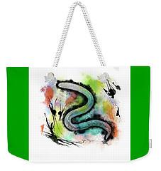 Worm Illustration Weekender Tote Bag