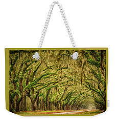 Wormsloe Drive Weekender Tote Bag by Phyllis Peterson