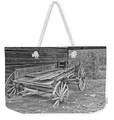 Worn And Broken Weekender Tote Bag by Geraldine DeBoer