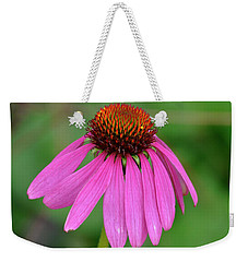 Weekender Tote Bag featuring the photograph Worry Coneflower by Diane E Berry