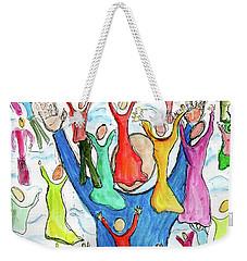 Worship Weekender Tote Bag
