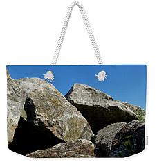Worthing Beach Peaks Weekender Tote Bag