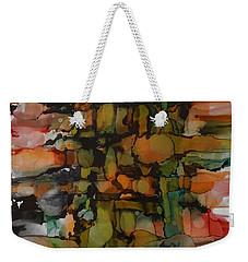 Woven Weekender Tote Bag by Alika Kumar