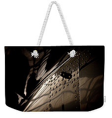 Weekender Tote Bag featuring the photograph Wow, Look At The Reflections by Paul Job