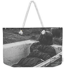 Wrapped Dead Body In Bath Tub, Csi Concept Weekender Tote Bag