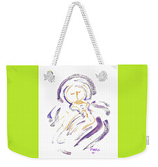 Wrapt In Prayer Weekender Tote Bag