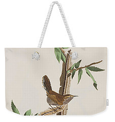 Wren Weekender Tote Bag by John James Audubon