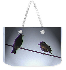 Wren Ya Goin Out Wit Me Weekender Tote Bag by Lenore Senior