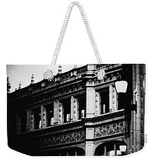 Wrigley Building Square Weekender Tote Bag