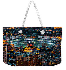 Wrigley Field From Park Place Towers Dsc4678 Weekender Tote Bag