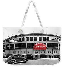 Wrigley Field - Home Of The Cubs C. 1939 Weekender Tote Bag
